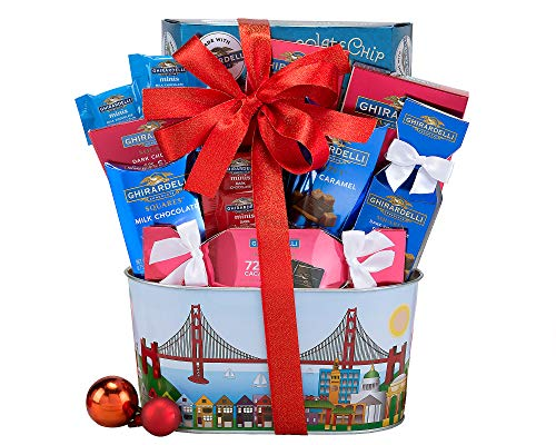 Ghirardelli Milk and Dark Chocolate Gift Basket ()