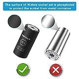 WETOLS Universal Socket Set, Magnetic Ratchet