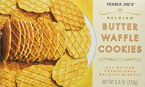 (Trader Joe's Belgian Butter Waffle Cookie Crisps - 2 Pack)