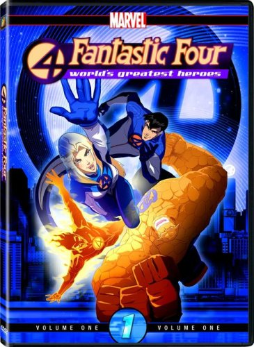 Fantastic Four - World's Greatest Heroes, Volume 1 (Series 4 Fantastic)