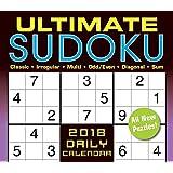 Sellers Publishing 2018 Ultimate Sudoko: Classic, Irregular, Multi, Odd/Even, Diagonal, Sum Boxed/Daily Calendar (CB0270)