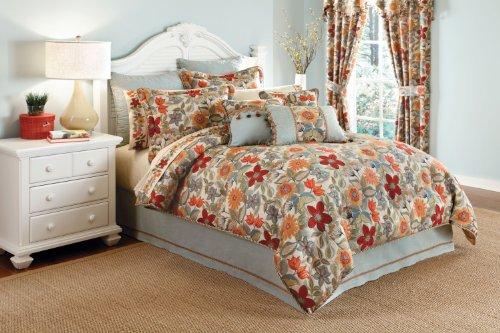 Croscill Home Mardi Gras Queen Comforter Set, Multi-Color -