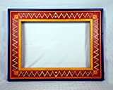 Custom Hand Painted Wood Picture Frame