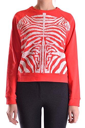 28.5 Femme MCBI001014O Rouge Coton Sweatshirt