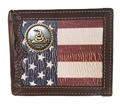 United Wallet Don't States Custom with fold Flag Me Bi Tread Distressed a On wYxfxU4vWq
