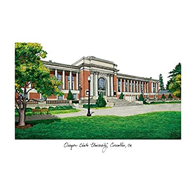 Campus Images Oregon State University Campus Images Lithograph Print