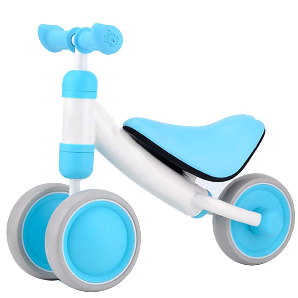 Blau YUMEIGE Laufräder Kinder laufrad Der Sitz kann in der Höhe verstellt Werden,Laufräder Geeignet für Kinder im Alter von 10-30Monaten,Lauflernrad Laden Sie 20 kg 5Farben (Farbe   Blau)
