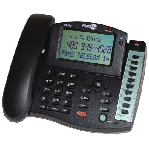 Fanstel 2-Line Business Professional Amplified Speakerphone (ST250)