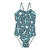 Vilebrequin - Girls One Piece Swimsuit Oursinade - Navy - 10YRS
