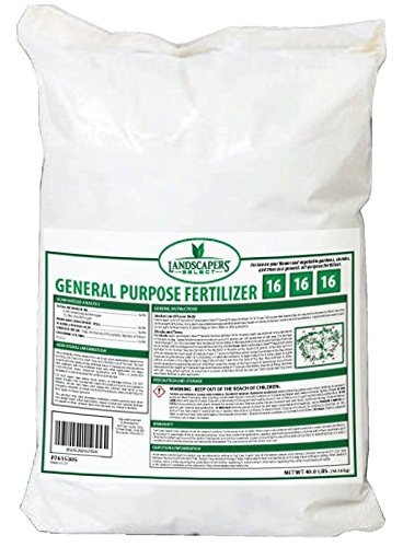 Turfcare/Landscapers Select Fertilizer Gen Pur 16-16-16