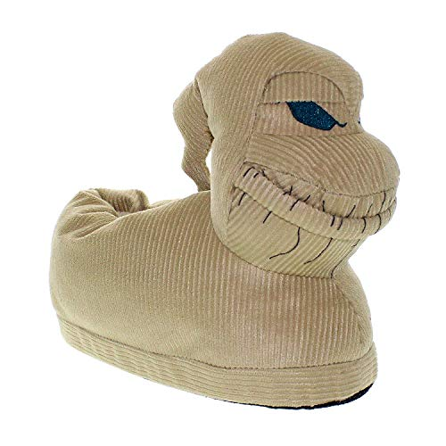 7025-4 - Disney Nightmare Before Christmas - Oogie - X-Large/XX-Large - Happy Feet Mens and Womens Slippers -