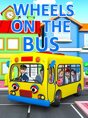 The Wheels on The Bus - Nursery Ryhmes Video for Kids (Toddler Movie)