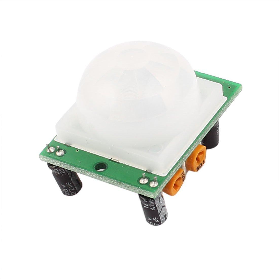 Amazon.com: eDealMax HC-SR501 Ajuste Mini infrarrojos IR Junta módulo Detector del Sensor de movimiento: Electronics