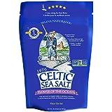 Celtic Sea Salt Flower of The Ocean Salt Bag, 1 Pound