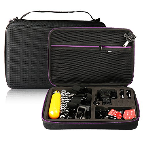 Soyan Hard Carrying Case for GoPro Hero 6/5/4/3+/3/2/1 Sport