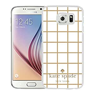 Kate Spade Cover Case For Samsung Galaxy S6 White Phone Case 39