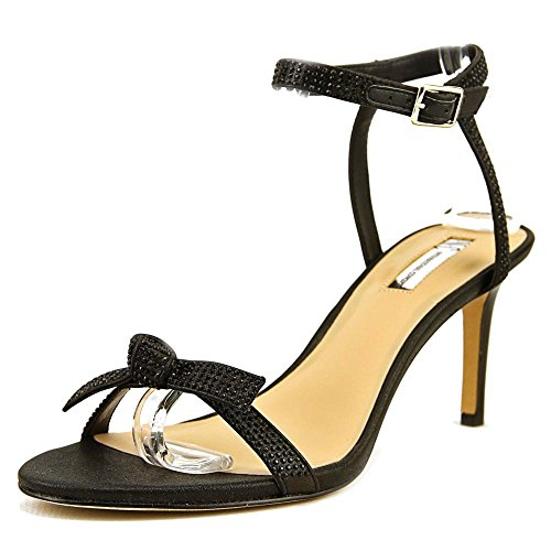 INC International Fabric Open S Laniah Strap Womens Ankle Black Casual Concepts Toe 7w6qwU