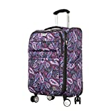 Ricardo Beverly Hills Mar Vista 2.0 21-Inch Carry-on Spinner, Midnight Paisley