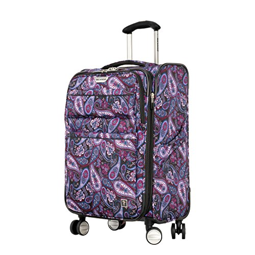 Ricardo Beverly Hills Mar Vista 2.0 21-Inch Carry-on Spinner, Midnight Paisley by Ricardo Beverly Hills