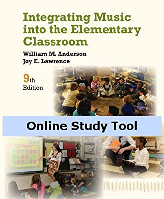Premium Web Site for Anderson's Integrating Music into the Elementary Classroom, 9th Edition