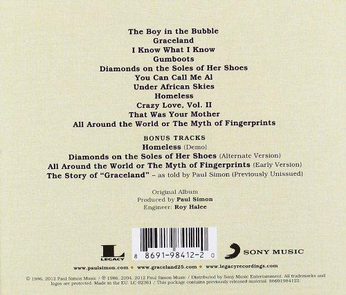 Paul Simon Album Cover