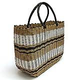 Tote Bag, Fashion Purse Women, Waterproof Beach Bag, Ladies Shopping Bag, 100% Recycled Material (Mocha)