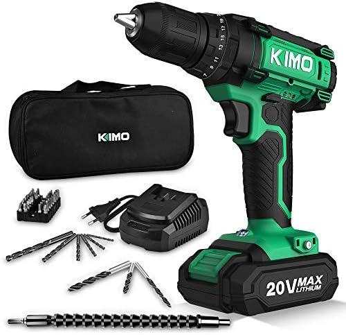 Kimo Cordless Drill Driver Kit,