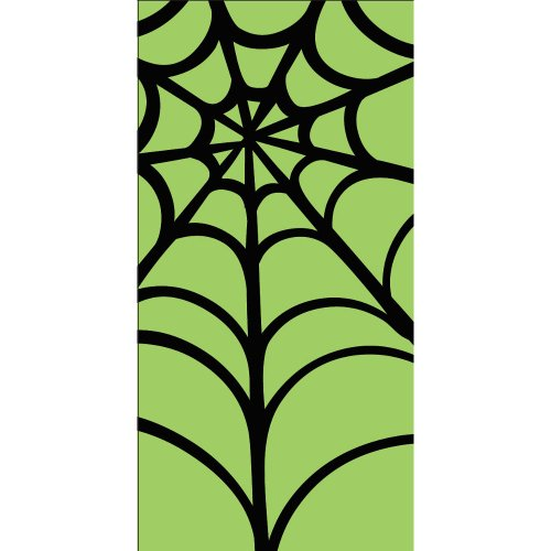 Creative Converting Swankies Lime Green Web Fashion Decorative Pocket Tissue Package for Parties]()