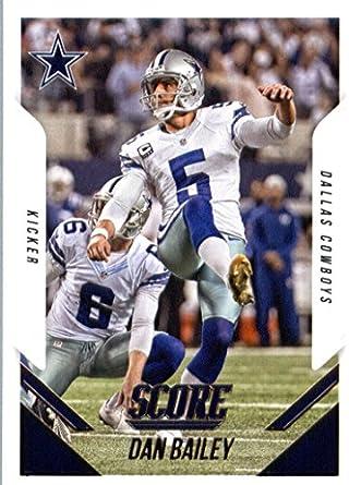 Amazon.com  2015 Score Football Card  158 Dan Bailey NM-MT ... a966bdabf