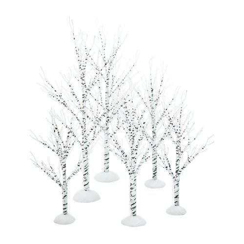 Department 56 Village Winter Birch Wrapped Wire (Set of 6)]()