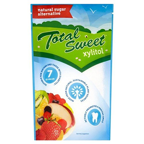 Total Sweet Natural Xylitol 225g - Pack of 6 by Perfect Sweet