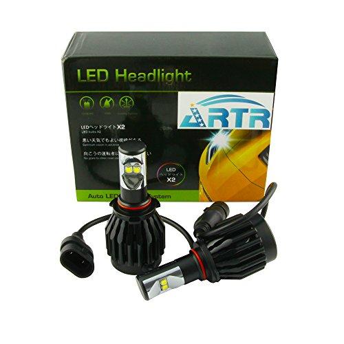 Artr Kit (ARTR® 5th Generation 6000K Pure White LED Headlight Conversion Kit For Fog Light (9005)