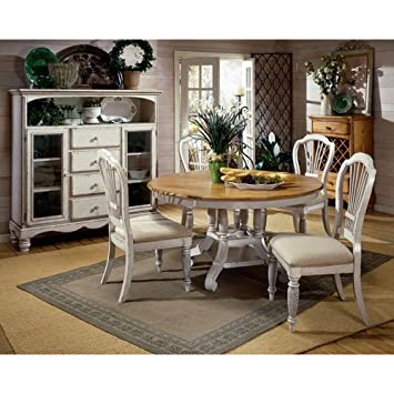 Amazon.Com: Hillsdale Furniture 4508Dtbrnd Wilshire Round Oval