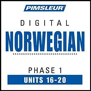 Norwegian Phase 1, Unit 16-20 Hörbuch