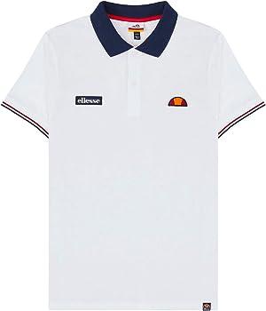 Ellesse Limentra Polo Shirt White S: Amazon.es: Ropa y accesorios