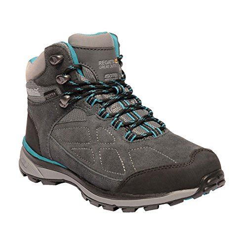 76f Rise Suede High Regatta Boots Grey Samaris Hiking Women's Ldy Briar Atlnts AqPcpwcCg