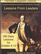Lessons From Leaders (Thematic Copywork…