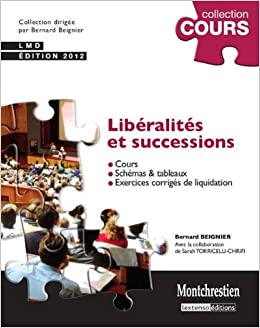 Amazon Fr Liberalites Et Successions Bernard Beignier Livres