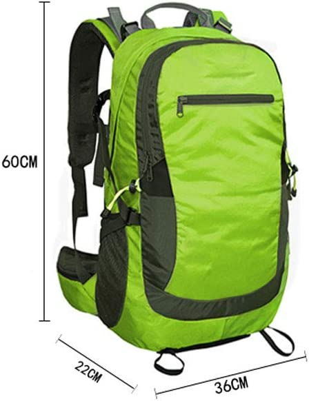 Camping Travel Multi-Purpose Camping Backpack Color : Blue Chenjinxiang01 50L Large Capacity Outdoor Mountaineering Bag