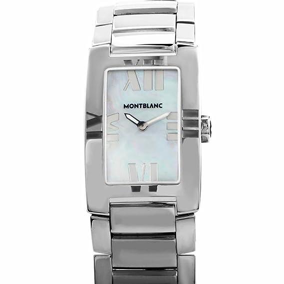 Montblanc cuarzo mujer reloj 7183ss (Certificado) de segunda mano: Montblanc: Amazon.es: Relojes