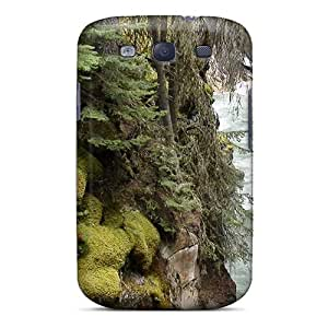 Galaxy Cover Case - Johnston Canyon In Banff Np Canada Protective Case Compatibel With Galaxy S3