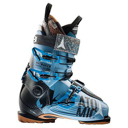 Atomic Waymaker Carbon 130 Ski Boot - Men's Denim/Black, 29.5