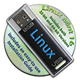 Linux Mint 16 on a Bootable 8GB USB Flash Drive - 32-bit and 64-bit.