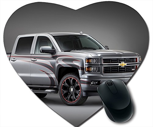 -shape mousepad Chevrolet Truck Concepts at SEMA Tony Stewart Silverado by juanjuangoshop,car heart-shape mousepads (Tony Stewart Heart)