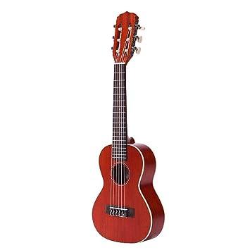 North King Guitarra acústica Guitarra con Fuego Guitarra Tablero Completo Tanyukriri Adultos Instrumentos de la música