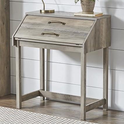 Amazoncom Better Homes And Gardens Modern Farmhouse Desk Rustic