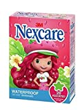 Nexcare Bangages Strawberry Shortcake Water Proof 20 count per Box (2 Boxes)
