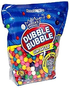 Dubble Bubble Machine Size 3.3 Lbs Gum Ball Refills