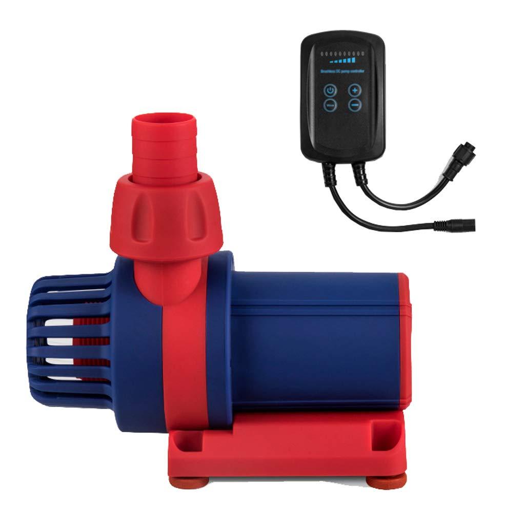 55W Aquarium Frequency Conversion Pump Ultra-Quiet Submersible Pump Large Flow Adjustable Freshwater Seawater Dual-Purpose Pump (Size   55W)