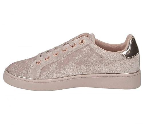 Guess - Zapatillas de Deporte Mujer, Rosa (Rosa), 36 EU: Amazon.es: Zapatos y complementos